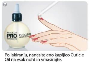cuticle oil olje
